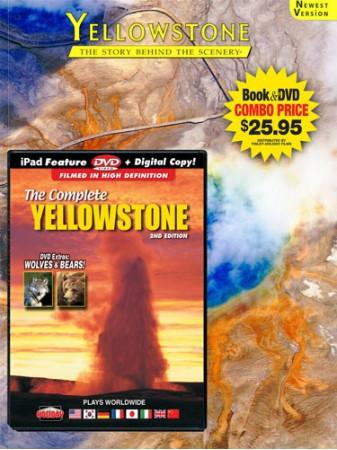 Yellowstone Book/DVD Combo