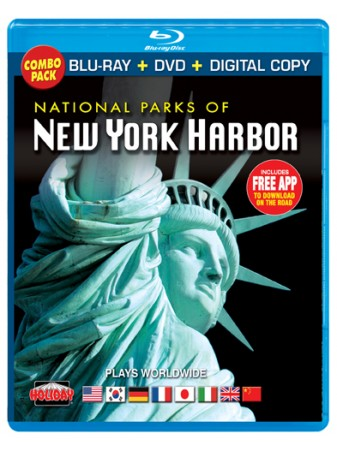 National Parks of New York Harbor, Blu-ray / DVD Combo Pack