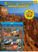 Bryce Canyon Book/ Bryce Canyon, Zion, N. Rim Grand Canyon Blu-ray Combo