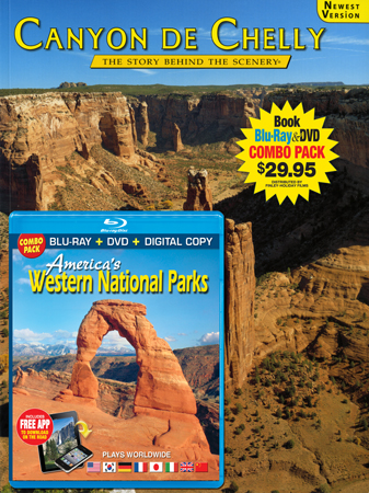 Canyon de Chelly Book/ Western Parks Blu-ray Combo