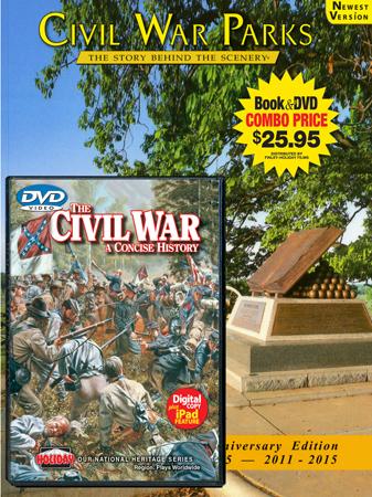 Civil War Parks Book/DVD Combo