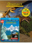 Dinosaur Book/America's National Parks Blu-ray Combo