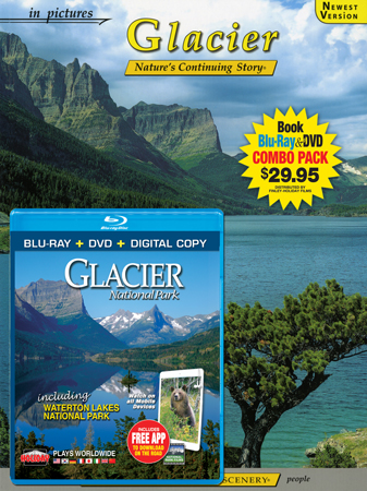 Glacier IP Book/Blu-ray Combo