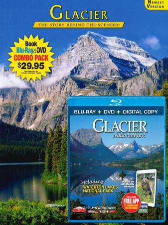 Glacier Book/ Blu-ray Combo
