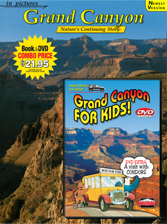 Grand Canyon & Grand Canyon for Kids DVD Book/DVD Combo