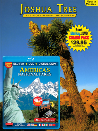Joshua Tree Book/ America's National Parks Blu-ray Combo
