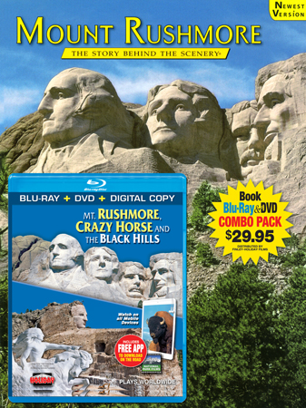 Mount Rushmore Book/Blu-ray Combo