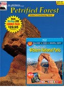 Petrified Forest Book/Western National Parks Blu-ray Combo