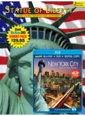 Statue of Liberty Book/New York City Blu-ray Combo